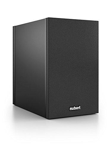 Nubert nuBox 303 Regal-/Dipol-Lautsprecher 2-Wege (12,0 cm Tieftöner, 2x 1,9 cm Hochtöner, 100/130 Watt, 74-27000 Hz), Stück, Schwarz / Schwarz