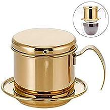 Kimmyer Filtro de Goteo de café-se Puede Cargar con café en Polvo 10-