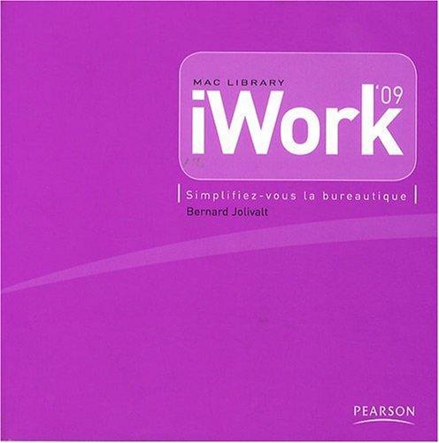 iWork'09: Simplifiez-vous la bureautique