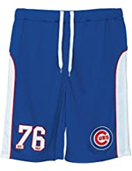 Majestic MLB Chicago Cubs Pickering Mesh Short Bleu