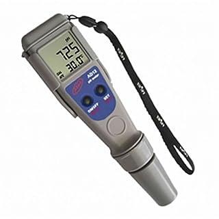ADWA AD12 | Wasserfestes und hochgenaues Temperaturmessgerät | Professioneller pH-Meter | Getränke | Trinkwasser | Schwimmbecken | Spa | Aquarium | Wasserkultur | Eichlösung inbegriffen