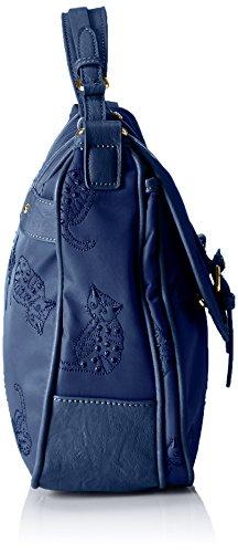 PAUL & JOE Satchel Bag, Sacs bandoulière Bleu - Blau (Marine 03 03)