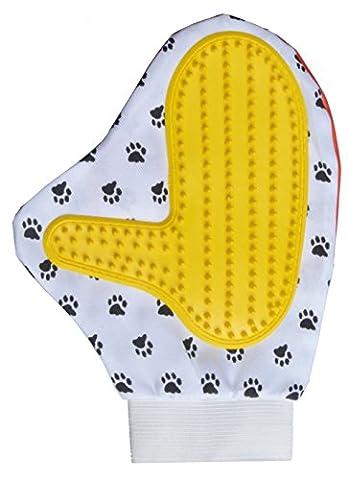 Sinland Pet Bürsten Handschuh Gentle Deshedding Massieren Bad Grooming Handschuh Pinsel für Hund und Katze