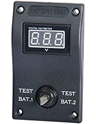 Osculati 14.861.05 - Modulo supplementare doppio voltmetro (Additional module double voltmeter)