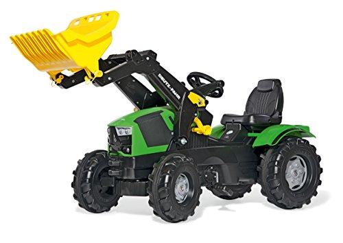 rolly toys rollyFarmtrac Deutz-FAHR 5120 Pedal Tractor - Juguetes de Montar (1420 mm, 530 mm, 810 mm, 12,6 kg, 1100 mm, 520 mm)