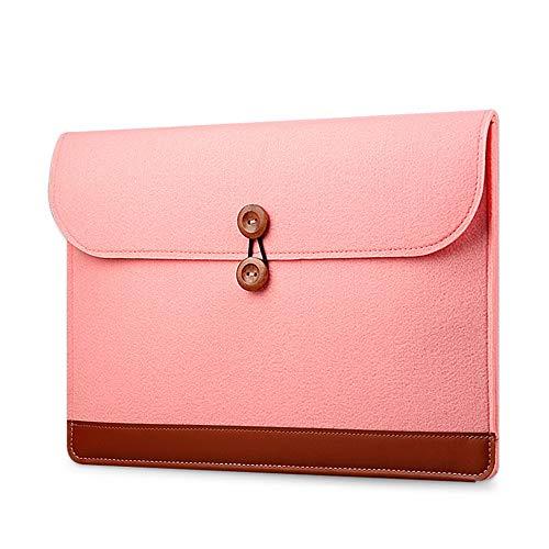 WKJ 11 Zoll Schutzhülle Innenhülle iPad Pro 2018 Hülle MacBook Pro/Air/Ultra Buch/Netbook Schutzhülle Hülle Tasche Unisex (Color : Pink)