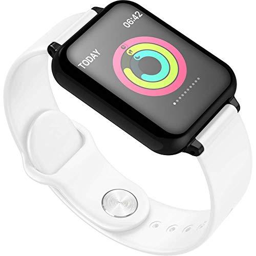 Hardworking bee 0,91 Zoll Touch Smartphone Wasserdichtes Armband Voll Kompatibel Mit Smart Watch Sport Bluetooth Headset Uhr Cool (Farbe : White) Symbian Os-smartphones