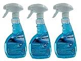 Scheibenentfroster Eisfrei 3 x0,5L Spezial Entwicklung Scheibenenteiser Spray Profi gleichzeitig wird ein Verkratzen der Scheiben verhindert und damit die Verkehrssicherheit durch blendfreies Fahren besonders im Gegenlicht und bei Nachtfahrten deutlich erhöht