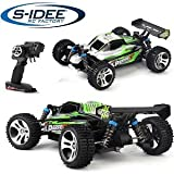s-idee® 18130 A959-A RC Auto Buggy Monstertruck 1:18 mit 2,4 GHz 35 km/h schnell, wendig, voll digital proportional 4x4 Allrad WL Toys ferngesteuertes Buggy Racing Auto