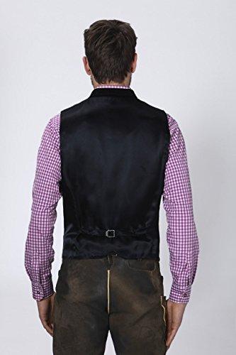 Stockerpoint - Herren Trachten Weste in verschiedenen Farbtönen, Calzado, Größe:64, Farbe:Schwarz - 4