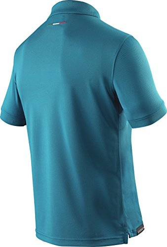 X-BIONIC for AUTOMOBILI LAMBORGHINI Herren Tech Style Pro Man 63 Ow Short Sleeves Polo Shirt Petroleum