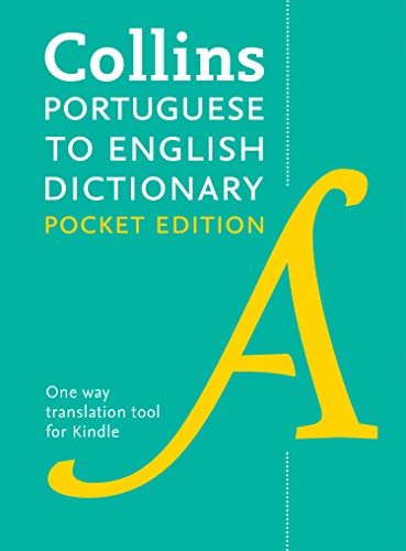 Collins Portuguese to English (One Way) Pocket Dictionary: Trusted support for learning (Collins Pocket) (Portuguese Edition)
