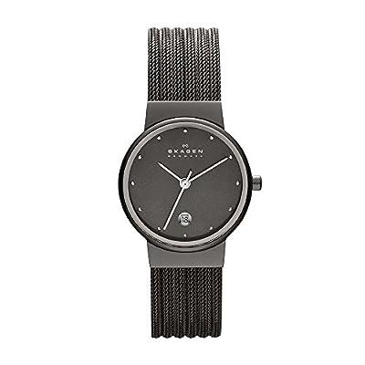 Skagen 355SMM1 - Reloj analógico para damas, de cuarzo, correa de acero inoxidable de SKAGEN