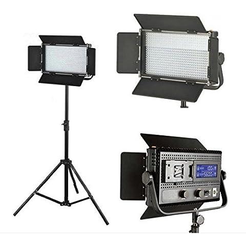 Gowe 576LED luce dimmerabile luce 5600K Digital schermo V