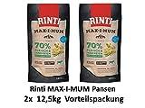 Rinti Max-i-Mum Pansen | 2X 12kg Hundetrockenfutter