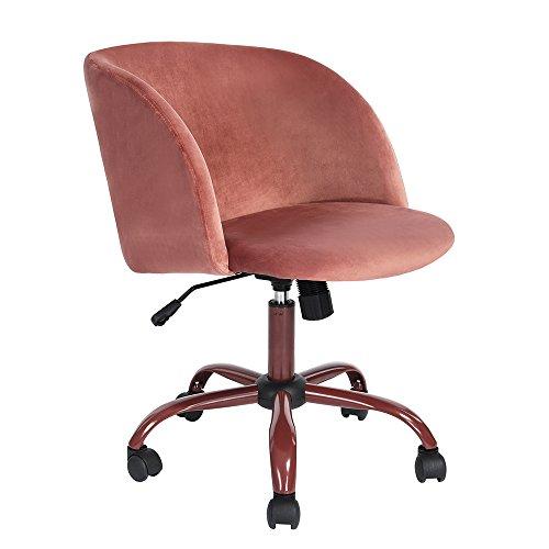 Drehbarer Samtsessel mit getufteter Rückenlehne.Bequeme Stuhl aus Samt, weich und doch fest, mit 5 Rollen und stabiler Basis; bietet Stärke und Stabilität, leicht zu bewegen. Ergonomisch geformte Rückenlehne und Armstütze für maximalen Komfort. Moder...