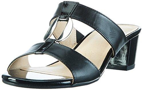 Caprice 27210, Mules Femme Noir (Black Nappa)
