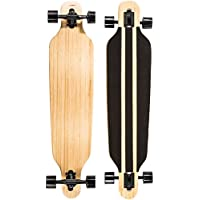 Ultrasport Carving & Downhill Longboards, Skateboard für City- und Park-Cruising – Komplettboard