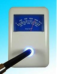 Levin dentaire léger Cure Puissance Polymériser testeur de lumière LED Mètre Db-128