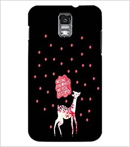 PrintDhaba Quote D-4257 Back Case Cover for SAMSUNG GALAXY S5 (Multi-Coloured)