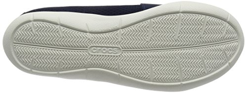 Crocs Swiftwater Flat W Navy/Whi, Ballerine Donna Blu (Navy/White)