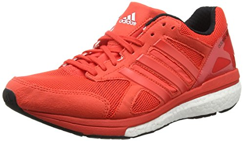 adidas Adizero Tempo 8, Chaussures de Running Compétition Homme Rouge - Red (Bright Red/Bright Red/Core Black)