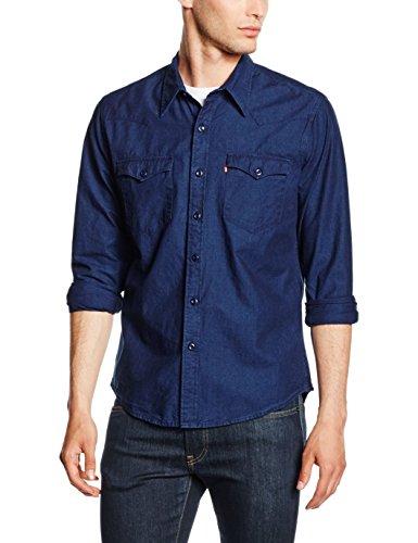 Levi's barstow western, camicia uomo, blu (c32416 fenugreek indigo pattern mt_sd162702 178), xx-large
