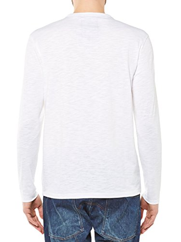 G-Star Rinep Langarm T-Shirt Weiß