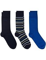 Gant Drei Packungsgrößen Urlaub Socken Blau