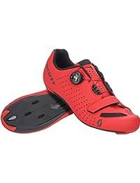 Scott 251817, Zapato de Ciclismo para Hombre, Matt Red/BK, 48.0