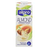 Alpro Almond Unsweetened, 1L