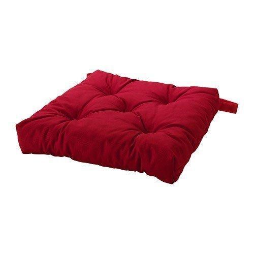 IKEA - Cuscino per sedia MALINDA, colore: rosso