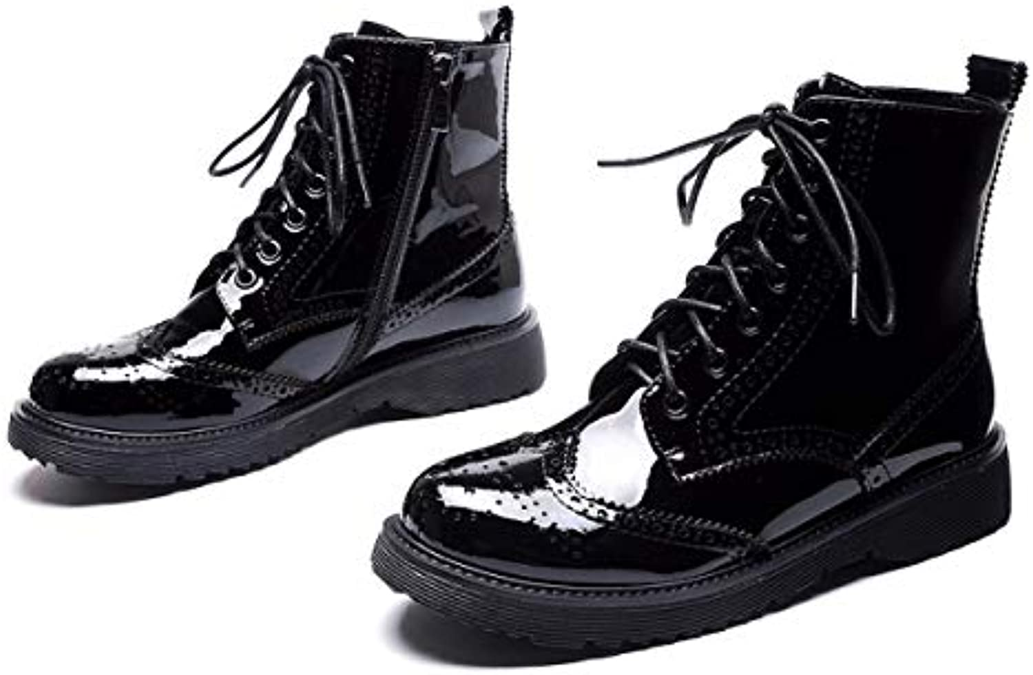 Laque Kokqsx Bottes Mesdames Mode Court Martin n4YWRPSwY