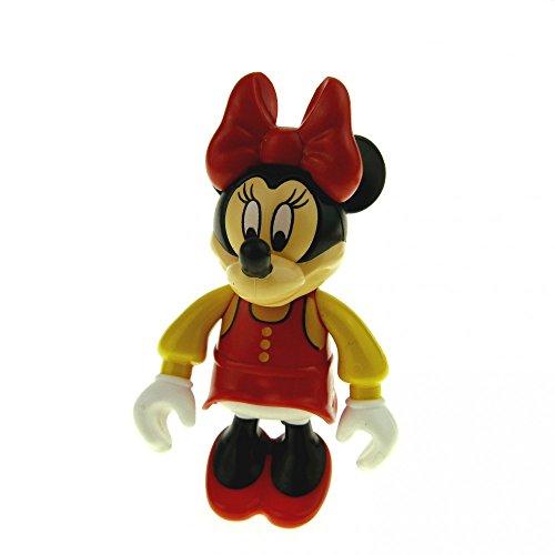 gur Minnie Mouse Kleid Schleife Schuhe rot Bluse gelb Disney Minni Maus 2661 (Minnie Maus Gelb Schuhe)