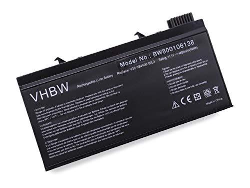vhbw Batterie 4400mAh (11.1V) pour Notebook, Ordinateur Advent V30, Uniwill V30 comme V30-3S4400-G1L3 V30-3S4400-M1A1 V30-3S4400-M1A2 V30-3S4400-M1S2