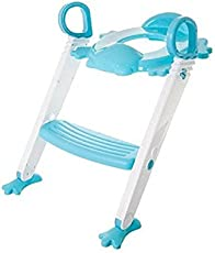 Dealcrox Toilet Ladder Seat Steps For Toddler Child Multi Colour