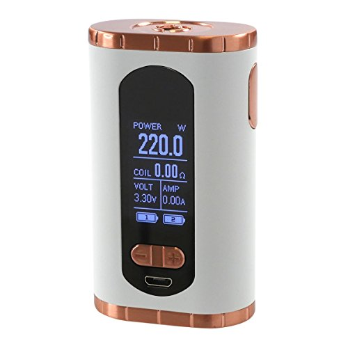 Eleaf Invoke Box MOD 220 Watt, Riccardo e-Zigarette - Akkuträger, weiß