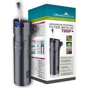 Aquarium Fish Tank Internal Filter – 9w UV Steriliser – 700IF+ All in One 150L