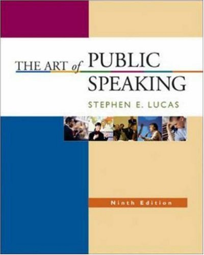 The Art of Public Speaking with Learning Tools Suite (Student CD-ROMs 5.0, Audio Abridgement CD set, PowerWeb, & Topic Finder)