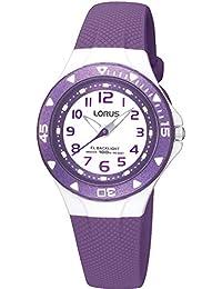 Lorus Unisex-Child Analogue Classic Quartz Watch with PU Strap R2337DX9