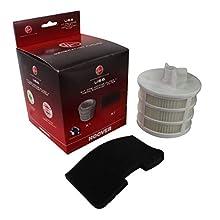 Hoover 35601328 U66 Sprint Filter Kit 35601328-Kit di filtri, plastica, Misto