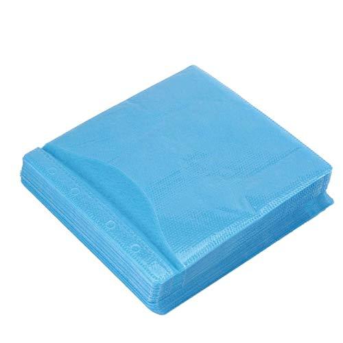 LouiseEvel215 100 Stücke CD DVD Doppelseitige Abdeckung Aufbewahrungskoffer PP Tasche Hülle Umschlag Bieten Lagerung & Schutz für Ihre CD & DVD