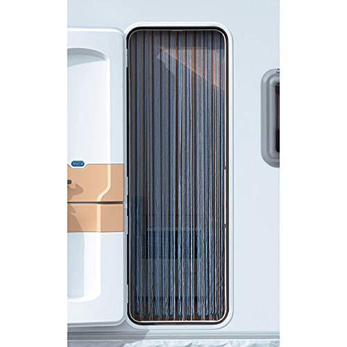 Arisol Kordelvorhang 190x60cm Türvorhang Vorhang Sichtschutz Insektenschutz Camping Reisemobil grau