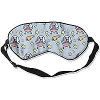 Sleep Eye Mask Animals Spaceship Lightweight Soft Blindfold Adjustable Head Strap Eyeshade Travel Eyepatch preisvergleich bei billige-tabletten.eu