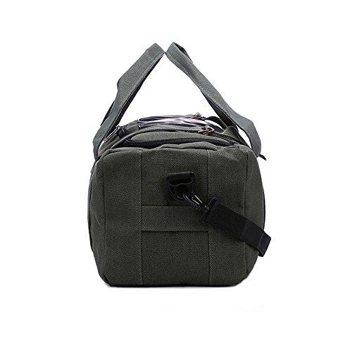 una borsa di tela di grande capacità borsa borsa,esercito green b esercito green b