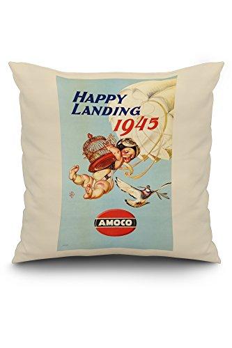 amoco-happy-landing-vintage-poster-artist-leyendecker-joseph-c-c-1944-20x20-spun-polyester-pillow-ca