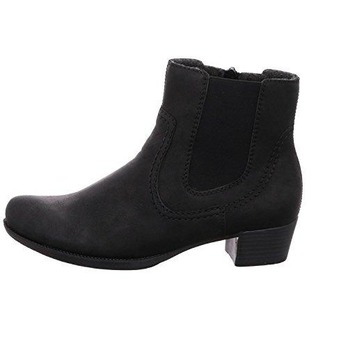 Rieker76691-01 - Chaussures Fermées Femme Noire