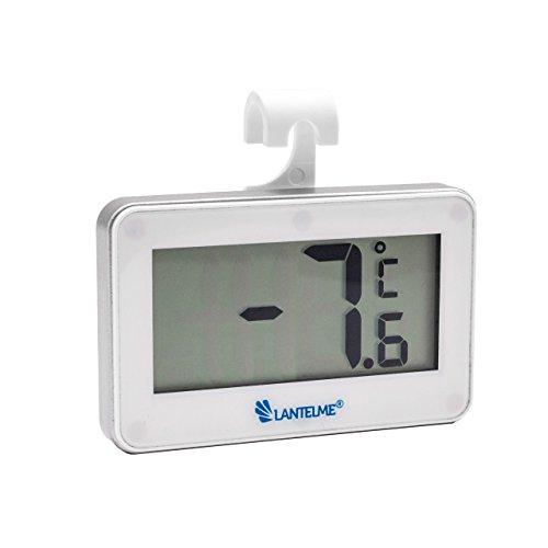 lantelme-5922-digital-thermometre-de-refrigerateur-blanc-avec-aimant-et-hakenhalterung-plage-de-mesu