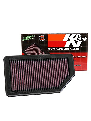 k&n 33-2472 high performance replacement car air filter K&N 33-2472 High Performance Replacement Car Air Filter 41P1poSW0sL