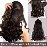 Best Extensions For Hairs - Majik Curly Synthetic Hair Extensions 26 Inch Long Review